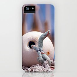 Fishing accessories in Neuharlingersiel Germany iPhone Case