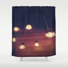 light me up Shower Curtain
