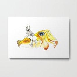 Pufferfish - Joyride Metal Print