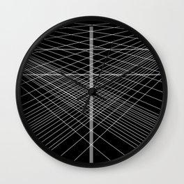 angel-angle Wall Clock
