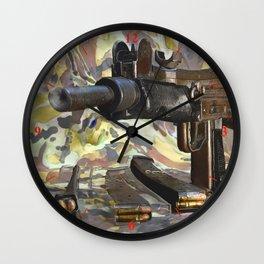 Warped Logic Wall Clock