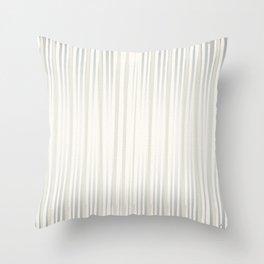 White | Japanese Atmospheres Throw Pillow