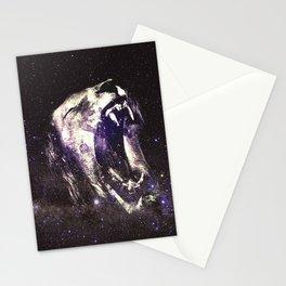 starry roar Stationery Cards