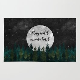 Stay Wild Moon Child Rug