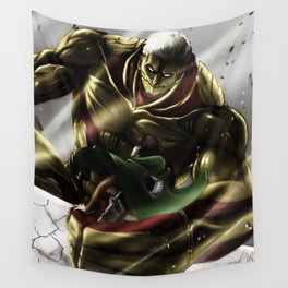Armored Titan Wall Tapestry