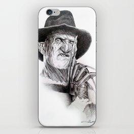 Freddy krueger nightmare on elm street iPhone Skin