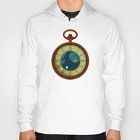pocket Hoodies featuring Cosmic Pocket Watch by badOdds