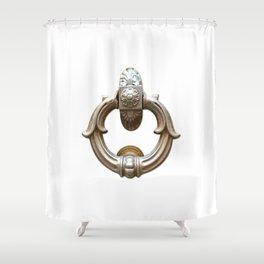 San Gimignano | Door Knocker Series Shower Curtain