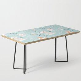 Christmas polar animals pattern 001 Coffee Table