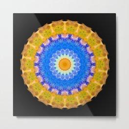 Sunrise Mandala Art - Sharon Cummings Metal Print