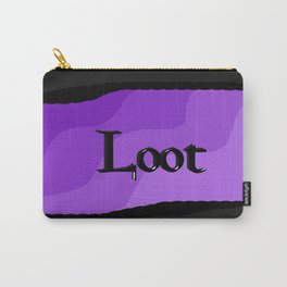 Loot: Color Lavender Carry-All Pouch