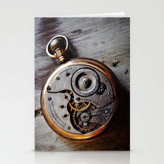 The Conductor's Timepiece - 1 Stationery Cards