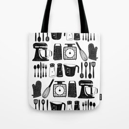 Kitchen Utensils Tote Bag