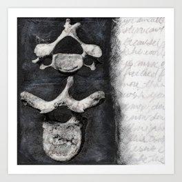 backbone Art Print