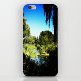 Monet's Garden in Chicago iPhone Skin