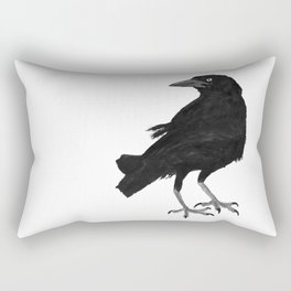 Blackbird - Tordo Rectangular Pillow
