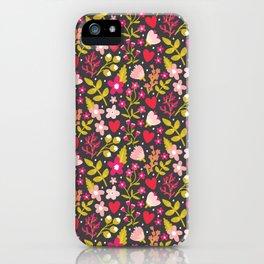 Valentine Floral iPhone Case