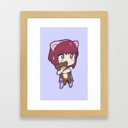 Cute Annie design Framed Art Print