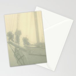 Maine Sailboat // Ship's Masts Stationery Cards