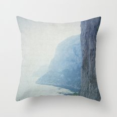 Letters From Capri - Italy Throw Pillow