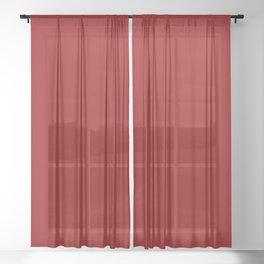 Red II Sheer Curtain