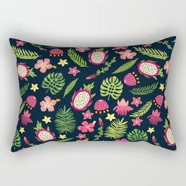 Pink tropical Rectangular Pillow