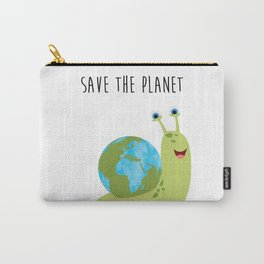 Save the Planet - It's on your shoulder Carry-All Pouch