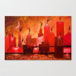 Candleopolis Fire Kingdom Canvas Print