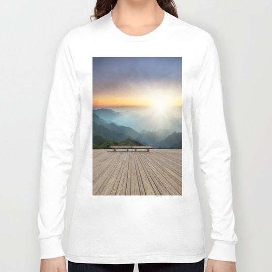 Wugong Mountain, China Long Sleeve T-shirt