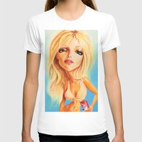 britney spears T-shirts featuring Britney Spears by Patrick Dea