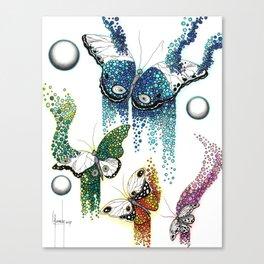 Emergiendo del caos Canvas Print