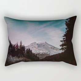 Pacific Northwest Mountain Magic Landscape Rectangular Pillow