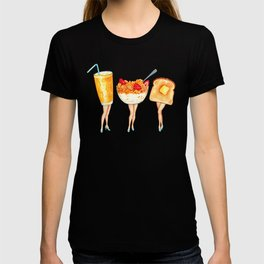 Breakfast Pin-Ups T-shirt