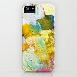Lots of Feelings Abstract Painting iPhone Case