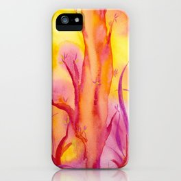 ABSTRACT - Magic Forest iPhone Case