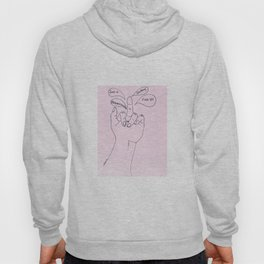 If your middle finger could talk Hoody
