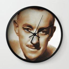 Alec Guinness, Movie Legends Wall Clock
