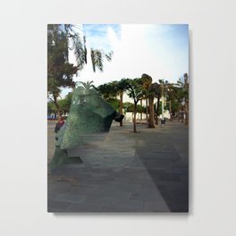 Sunday 25 November 2012: civil society agreement enforcement Metal Print