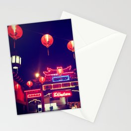 Down to Chinatown Stationery Cards