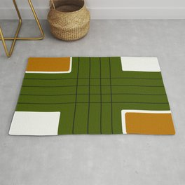 Modern Abstract Color Block Rug