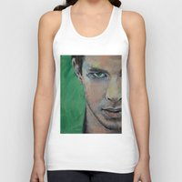 street fighter Tank Tops featuring Fighter by Michael Creese