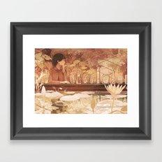 Cocoa Framed Art Print