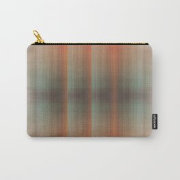 Abstract pattern pink and grey Carry-All Pouch