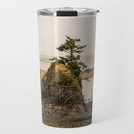 Islas en la Costa de Oregon Travel Mug