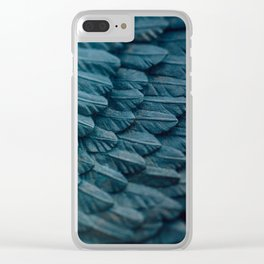 Ombre wings Clear iPhone Case