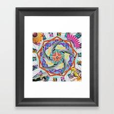 ▲ CHASCHUNKA ▲ Framed Art Print