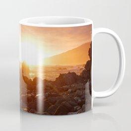 Big Sur's Rocky Shore Sunset Coffee Mug