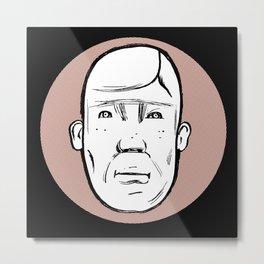 Mr. Wiig Metal Print