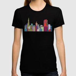 San Francisco city skyline T-shirt