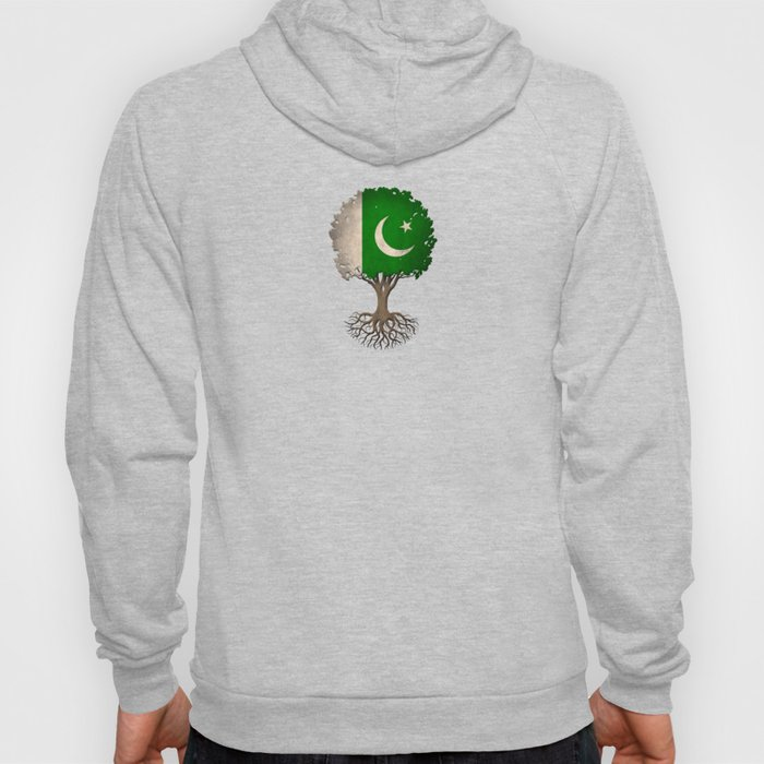 Vintage Tree of Life with Flag of Pakistan Hoody